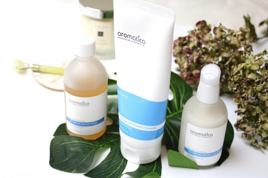 aromatica la linea cosmetica coreana per pelle grassa Do you have oily skin? choose AROMATICA and discover with KBC the products that are best for you